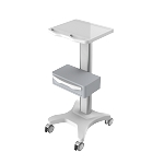 Medical laptop computer trolley- Fixed height