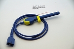 VETERINARY SPO2 RECTAL SENSOR 9 PIN NELLCOR COMPATIBLE , WITH STOP RING