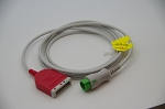 5 leads truck cable for Mindray datascope DPM6/7 Passport 8 /12