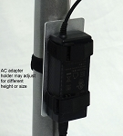Pole Mount AC adatper holder