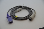 8 pin to DB9 Spo2 Extension Cable for Mindray Datascope T5/T8/DPM6/DPM7 MONITOR with Nellcor Oximax Module