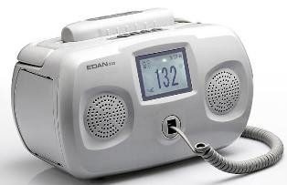 Edan SD5 table top fetal doppler with wired sensor , choice of 2mhz or 3 mhz probe , free shipping in USA