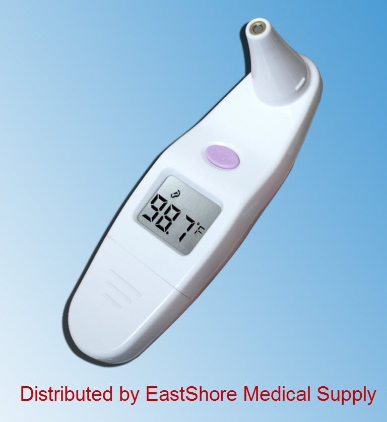 Infrared Ear Digital thermometer with bonus probe cover