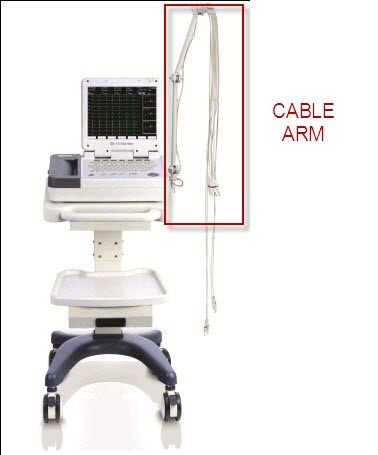 Cable Lead Arm for Mobile Trolley Cart for Edan ECG EKG SE-1200 series