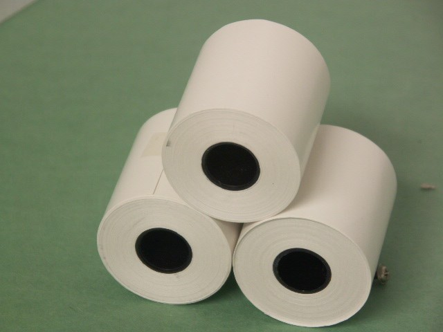 50MM ROLL Thermal paper for Contec ECG80A ECG recorder printer (3 rolls)  , (WITHOUT RED GRID)