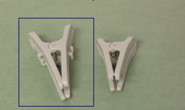 SPO2 sensor clips for Mindray , Edan and BLT ( Biolight ) Veterinary oximeter sensors , large clip for tongue