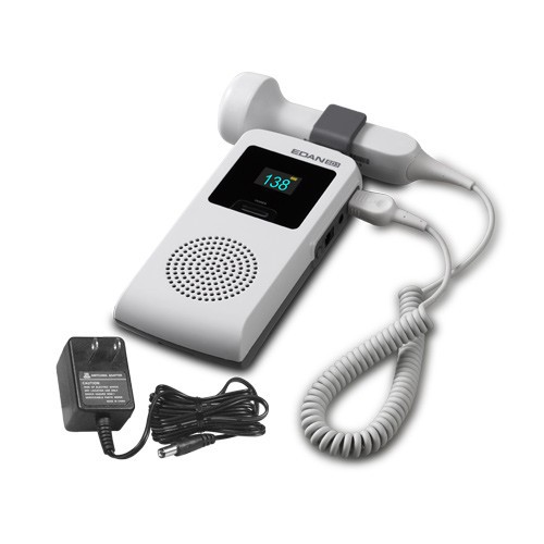 EDAN SD3 PLUS FETAL/VASCULAR Doppler ,choice of 2/3/4/5/8MHZ PROBE. OLED color screen, li-ion rechargeable battery